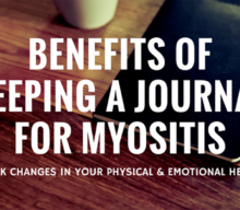 Benefits of keeping a health journal for Myositis