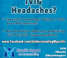 Avoiding or Minimizing IVIG Headache Side Effects