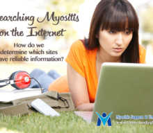 Researching Myositis on the Internet