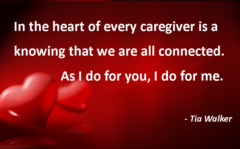 Heart of a caregiver