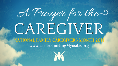 A Prayer for the Caregiver