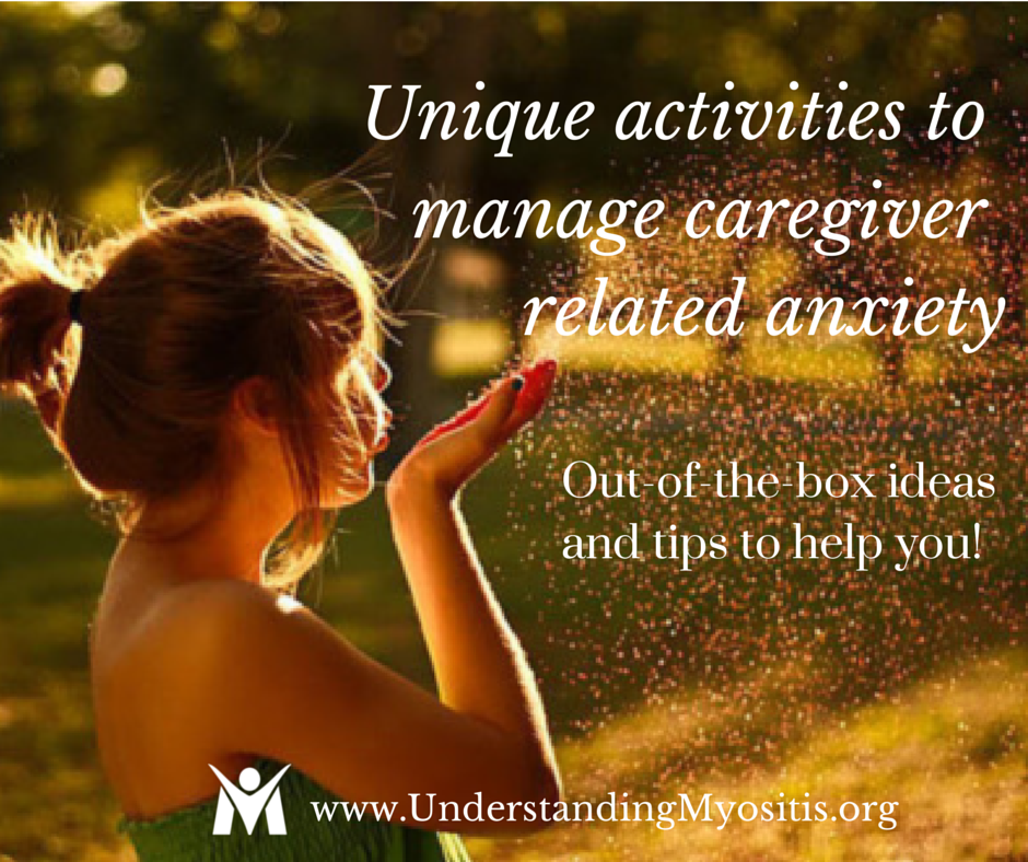 Activities to manage caregiver stress