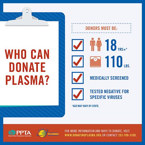 Donate plasma