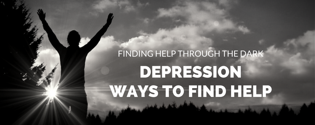 Depression, ways to find help