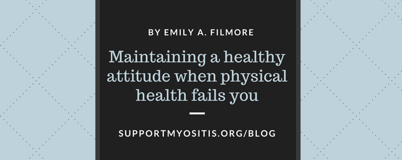 Maintaining a healthy attitude
