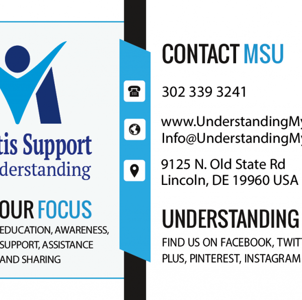 Myositis information cards, MSU