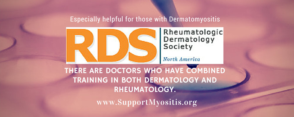 RDS, Find a rheum-derm