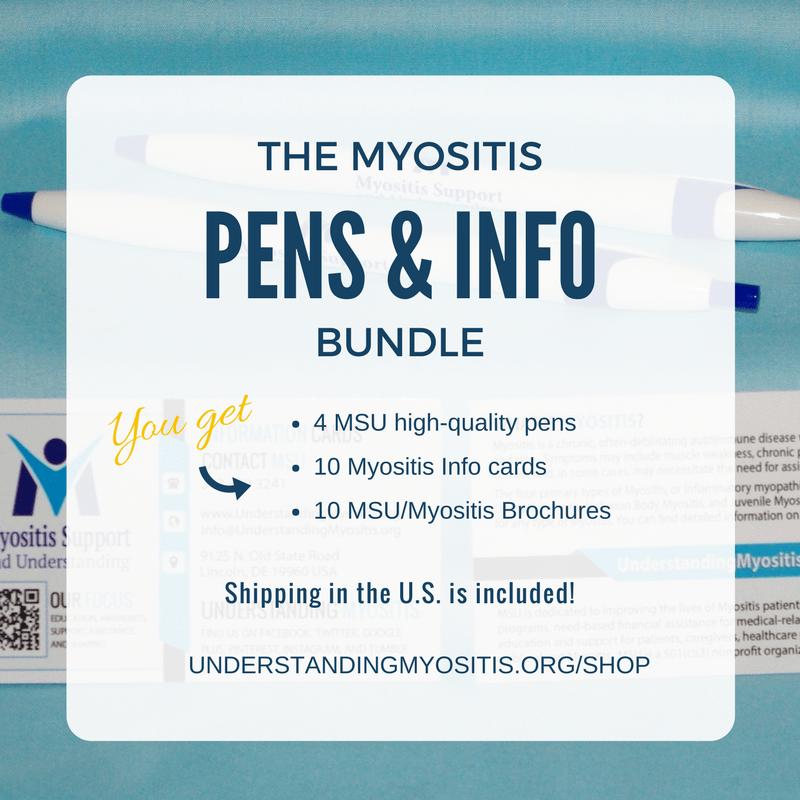 MSU and Myositis pens bundle