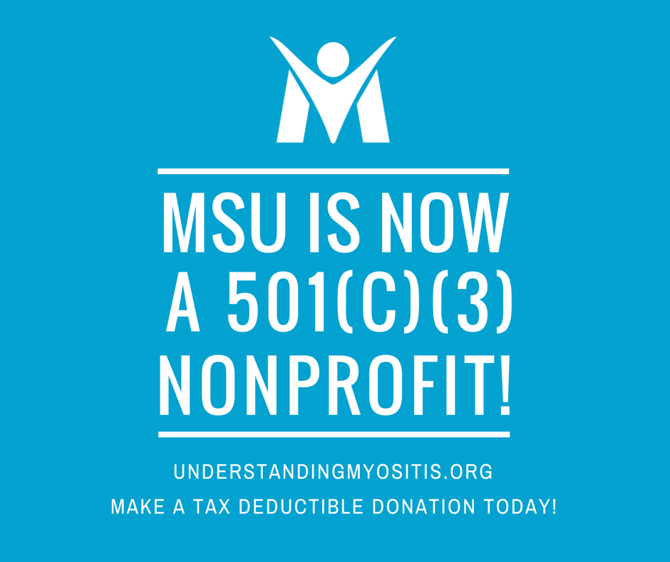 MSU is now a 501c3 nonprofit organization