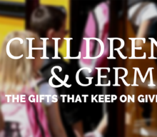 Children and Germs, the gifts that keep on giving!