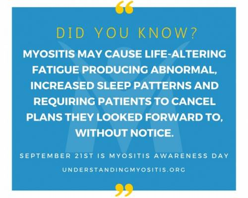 Myositis and Fatigue