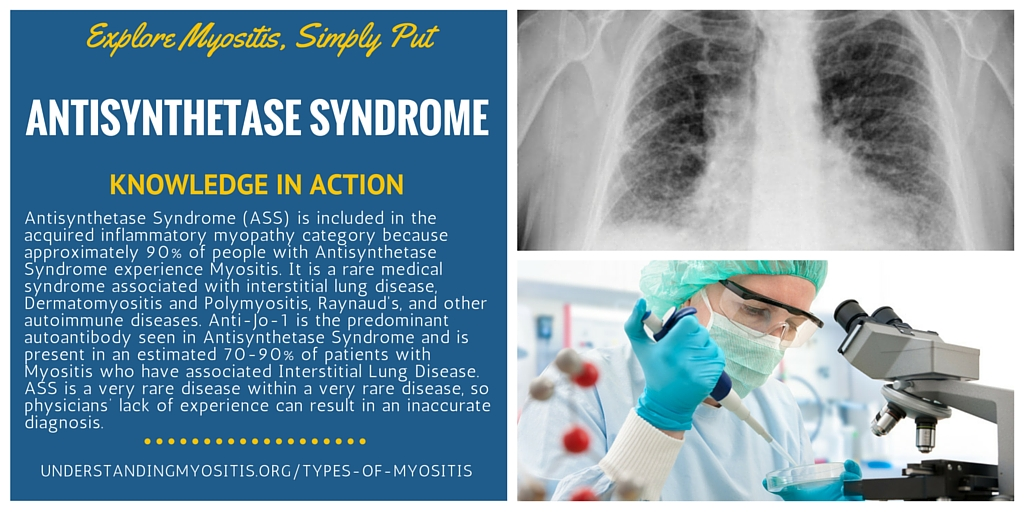 antisynthetase syndrome ass myositis support and