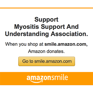 Shop Smile.Amazon for Myositis Support and Understanding