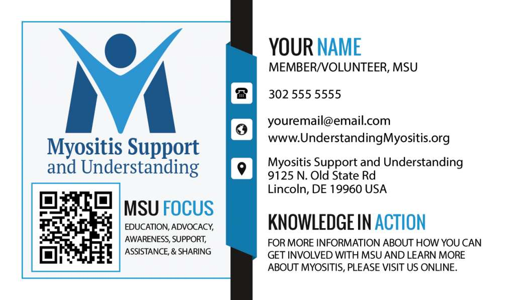 Custom information cards MSU