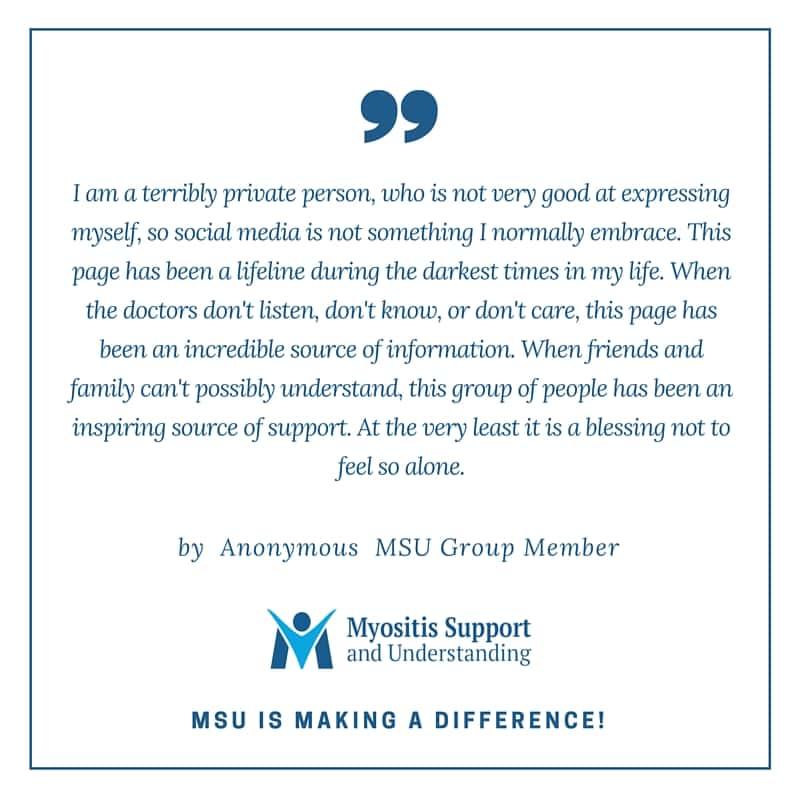 MSU group member shares their testimony
