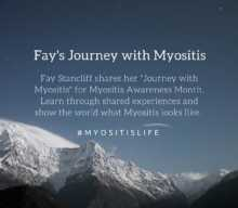 Fay's Journey with Myositis