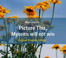 Picture This, Myositis Will Not Win