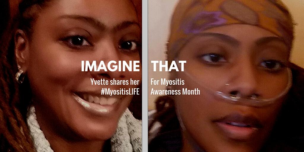 Yvette shares her myositisLIFE
