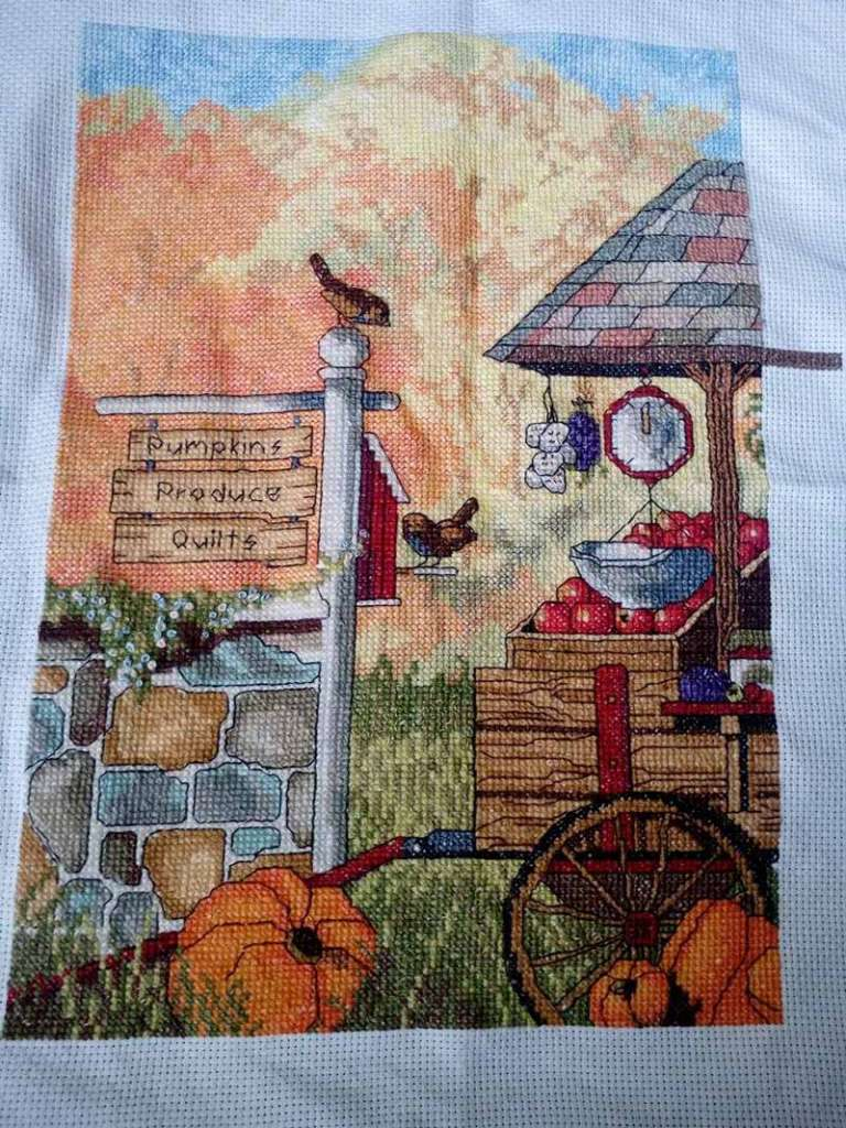 Janet I shares her Cross Stitch