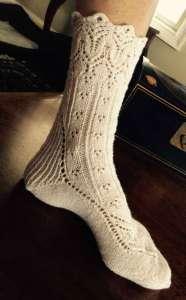 Rose shares how knitting kept her sane through Myositis