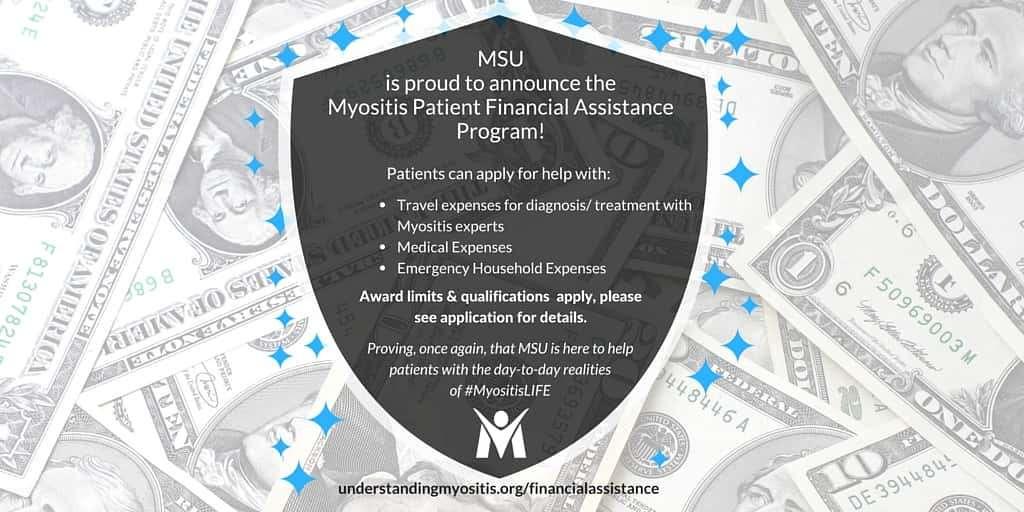 Myositis Financial Assistance program