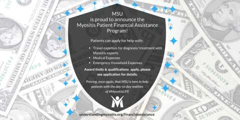 Myositis Financial Assistance program