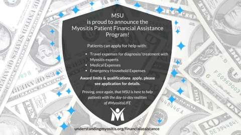 Press Release: Myositis Patient Financial Assistance Program