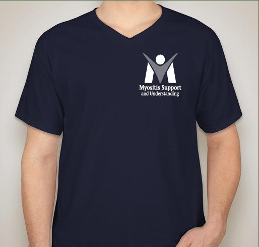 #MyositisLIFE t-shirts