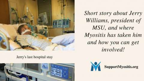 A short story about Jerry Williams, president of MSU, and getting involved