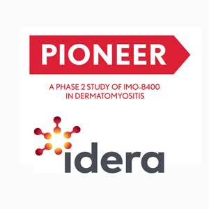 Idera Pioneer Clinical Trial for adults with Dermatomyositis