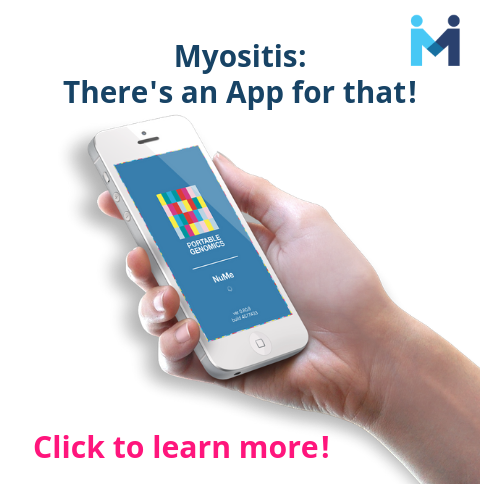 NuMe app for Myositis