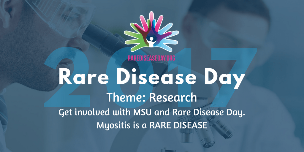 MSU and Rare Disease Day 2017