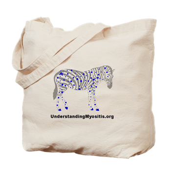 MSU Spotted Zebra Tote Bag