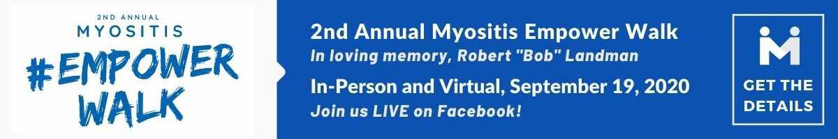 Myositis Empower Walk, Sept. 19, 2020