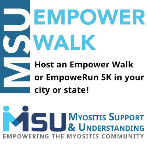 "The Myositis Empower Walk and Myositis EmpoweRun 5K were created in loving memory of Robert ""Bob"" Landman by his family to help Myositis Support and Understanding continue with its important patient-centered work."