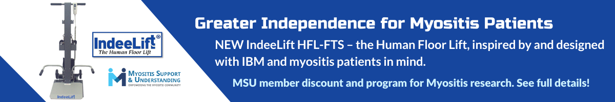 MSU IndeeLift program for greater independence for the myositis community
