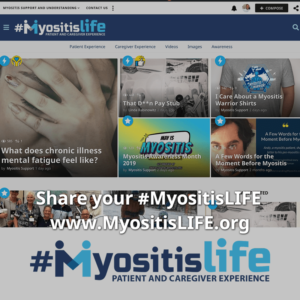 New MyositisLIFE website is live