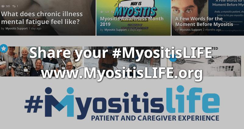 New MyositisLIFE website is live