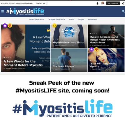 New MyositisLIFE website sneak peek