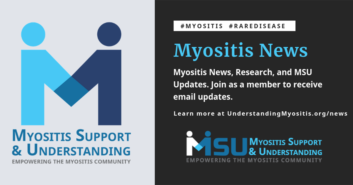 PR: Myositis Support and Understanding Association celebrates Myositis Awareness month with #MyositisLIFE-themed activities