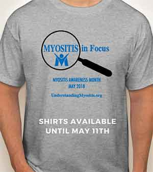 Myositis in Focus Shirts