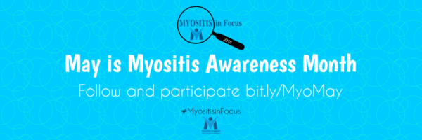 Myositis Awareness Month Twitter Cover