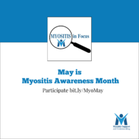 Myositis Awareness Month Facebook and Twitter Profile pic