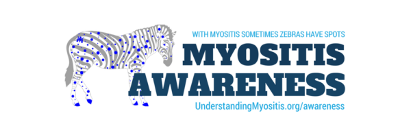 Myositis Awareness Month cover image for social networks