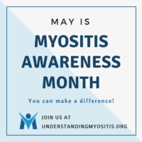Myositis Awareness Month FB profile image
