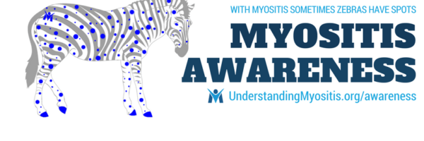 Myositis Awareness Month FB cover image