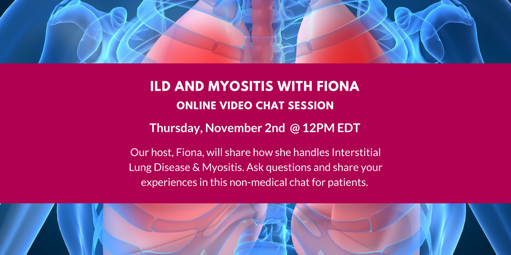 MSU presents ILD and Myositis Video Chat with Fiona