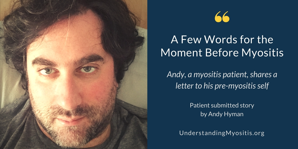 Moment before Myositis by Andy Hyman