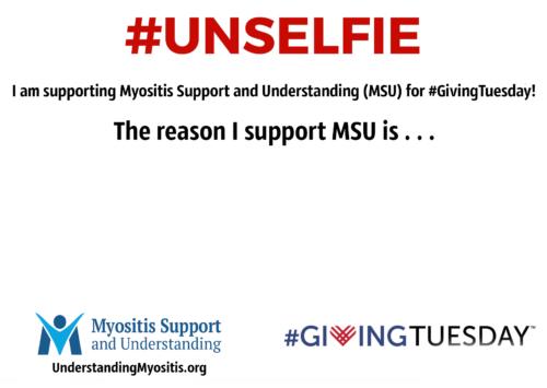 #GivingTuesday #unselfie MSU