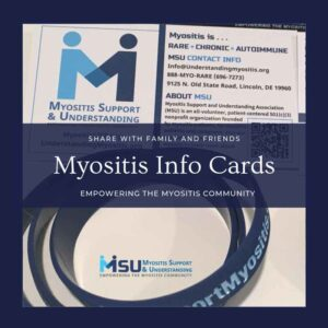 Myositis Information Cards